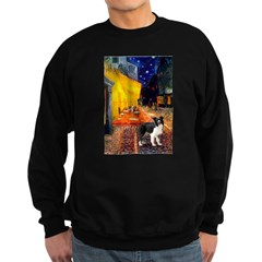 Cafe / Border Collie (Z) Sweatshirt (dark)