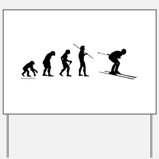 Ski Evolution Yard Sign