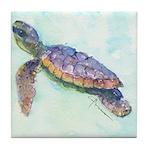 Sea Turtle No. 28 Tile Coaster