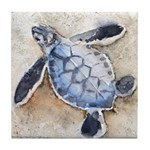 Sea Turtle 29 Tile Coaster