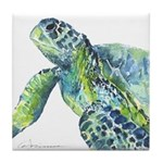 Sea Turtle 23 Tile Coaster