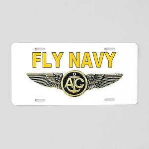 US Navy Aircrew Aluminum License Plate