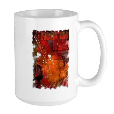 Rock On Guitar Hero! Large Mug