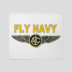 US Navy Aircrew Throw Blanket