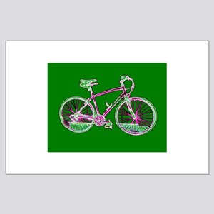 Bicycle Cycling Large Poster / Print
