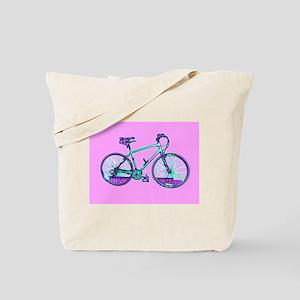 Bicycle / Cycling / Bike Tote Bag (pink)