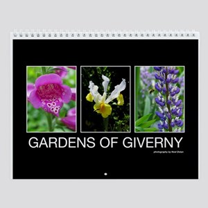 Gardens of Giverny Wall Calendar