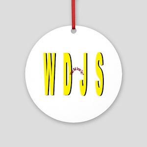 WDJS Round Ornament