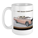 Dodge Coronet R/T Roadster Concept Large Mug