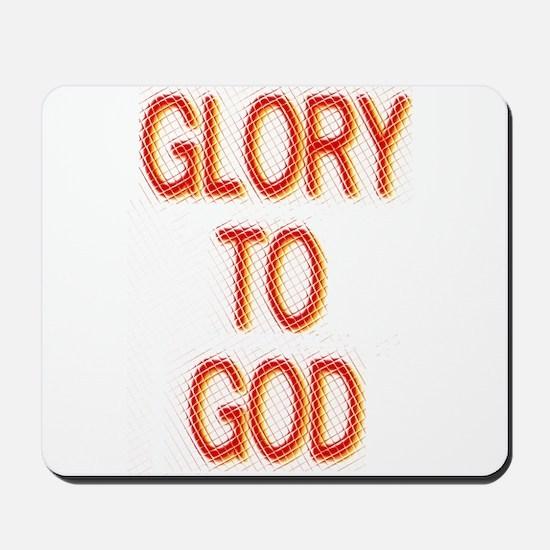 Glory to God Mousepad