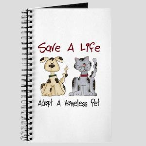 Adopt A Homeless Pet Journal