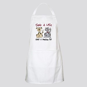 Adopt A Homeless Pet BBQ Apron