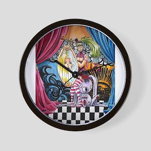 My F'd Up Wonderland Wall Clock