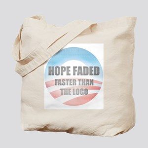 Hope Faded Tote Bag