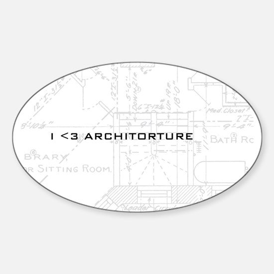 Architorture Oval Decal