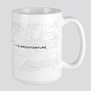 Architorture Large Mug