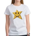 Smiley Juicy Rainbow Star Women's T-Shirt