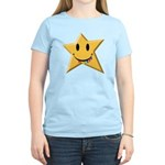 Smiley Juicy Rainbow Star Women's Light T-Shirt