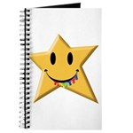 Smiley Juicy Rainbow Star Journal