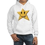 Smiley Juicy Rainbow Star Hooded Sweatshirt