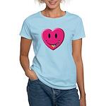 Smiley Juicy Rainbow Heart Women's Light T-Shirt