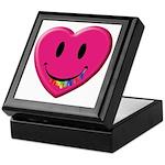 Smiley Juicy Rainbow Heart Keepsake Box