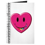 Smiley Juicy Rainbow Heart Journal