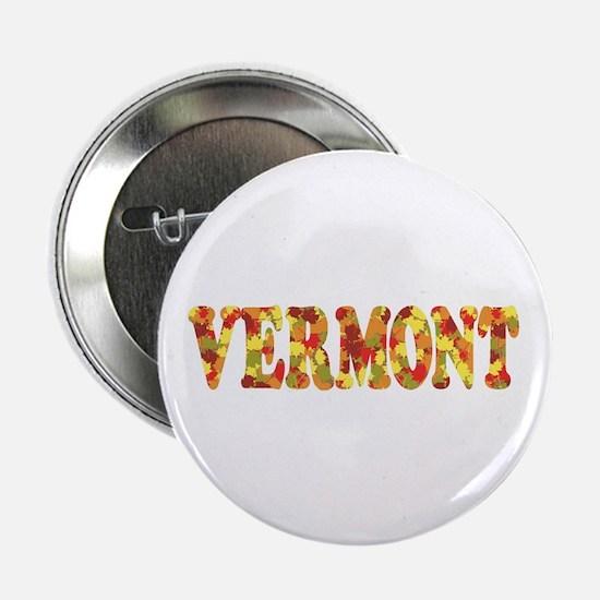 """Autumn in Vermont 2.25"""" Button"""