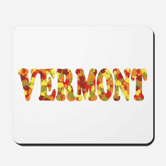 Autumn in Vermont Mousepad