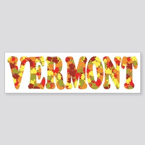 Autumn in Vermont Bumper Sticker