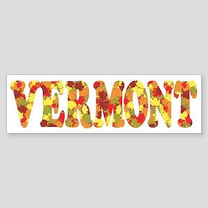 Autumn in Vermont Bumper Sticker