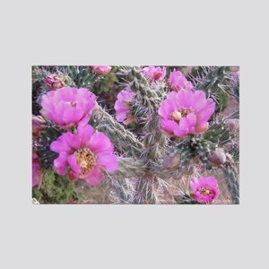 Cactus Flower Rectangle Magnet