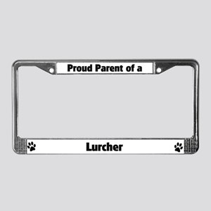 Proud: Lurcher License Plate Frame