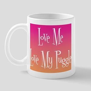 Love Puggle Mug
