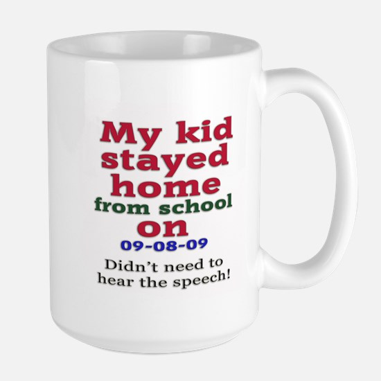 Stay Home Large Mug
