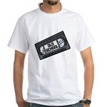 Old School VHS Tape White T-Shirt