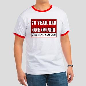 70th Birthday Ringer T
