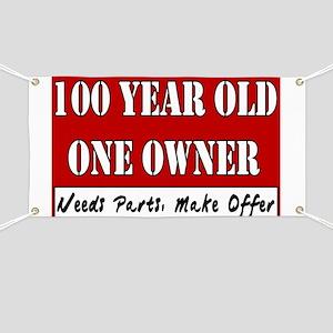 100th Birthday Banner