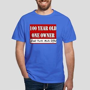 100th Birthday Dark T Shirt