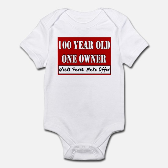 100th Birthday Infant Bodysuit