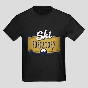 Ski Purgatory Patch Kids Dark T-Shirt