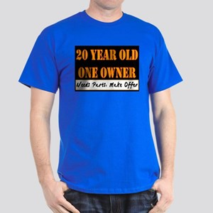 20th Birthday Dark T-Shirt