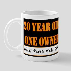 20th Birthday Mug