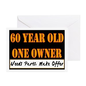 60 Year Olds Greeting Cards