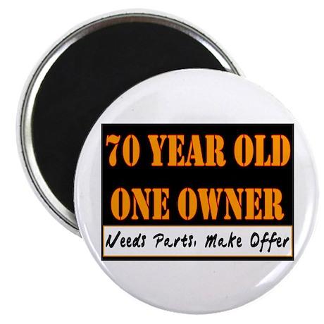70th Birthday Magnet