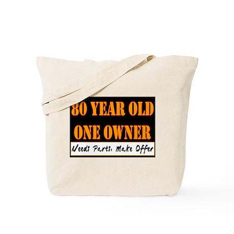 80th Birthday Tote Bag