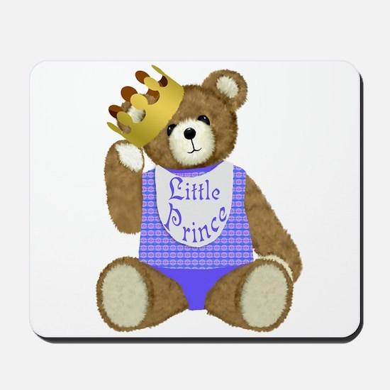Little Prince Teddy Bear Mousepad