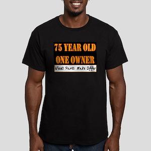 75th Birthday Men's Fitted T-Shirt (dark)