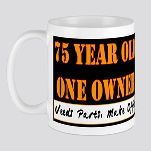 75th Birthday Mug