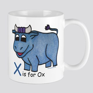 X is for Ox Mug